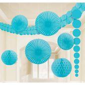 Dekoračná sada miestnosti baby blue