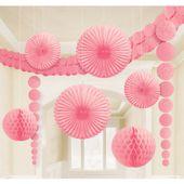 Dekoračná sada miestnosti baby pink