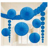 Dekoračná sada miestnosti modrá