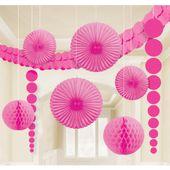 Dekoračná sada miestnosti ružová