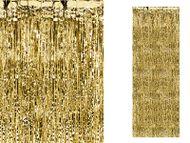 Dlhá párty opona zlatá