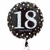 "Fóliový balón ""18"" Gold Diamonds"