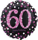 Fóliový balón 60 Pink Diamonds