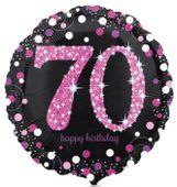 Foliový balón 70 Pink Diamonds