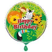 Fóliový balón Animal Jungle