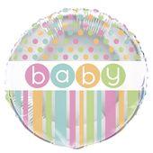 Fóliový balón Baby dots