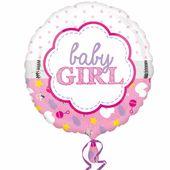 Fóliový balón Baby Girl
