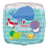 Fóliový balón Baby shower Pod morom