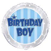 Fóliový balón Birthday Boy