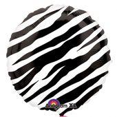 Fóliový balón Black Zebra