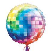 Fóliový balón supershape Disco guľa