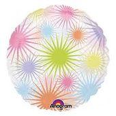 Fóliový balón Fireworks splash