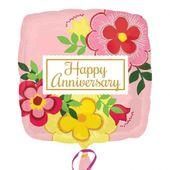 Fóliový balón Happy Anniversary