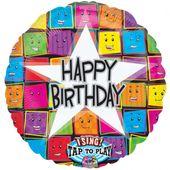 Spievajúci balón Happy Birthday Faces