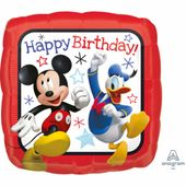 Fóliový balón HB Mickey a pretekári