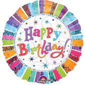 Fóliový balón HB Radiant Birthday