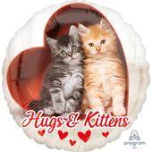 Fóliový balón Hugs & Kittens