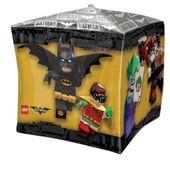 Fóliový balón kocka Lego Batman