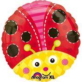 Fóliový balón Lienka