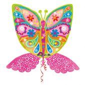 Fóliový balón supershape magický motýľ