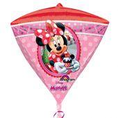 Fóliový balón diamant Minnie