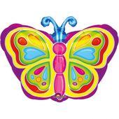 Fóliový balón Motýľ