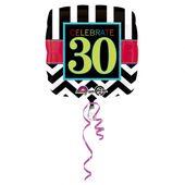 """Fóliový balón narodeniny """"30"""""""