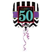 """Fóliový balón narodeniny """"50"""""""