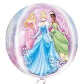 Fóliový balón orbz Disney Princezné
