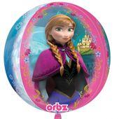 Fóliový balón orbz Frozen pink