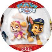 Fóliový balón orbz Labková patrola