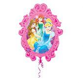 Fóliový balón supershape Disney Princezné zrkadlo
