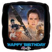 Fóliový balón Star Wars Happy Birthday