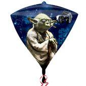 Fóliový balón diamant Star Wars Yoda