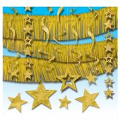 Sada dekorácií zlatá