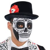 Halloween maska Kostra