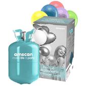 Héliová fľaša 30 + balóny