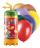 Héliová fľaša 40 + balóny