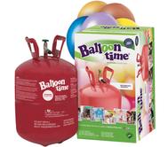 Héliová fľaša 90 + balóny