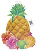 Kartónová dekorácia ananás