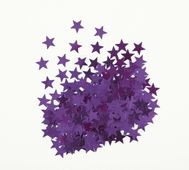 Konfety Star fialové