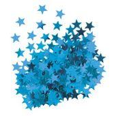 Konfety Star modré
