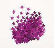 Konfety Star ružové