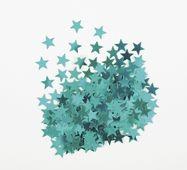 Konfety Star tyrkysové