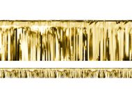 Krátka párty opona zlatá