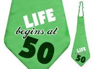 Kravata 50. narodeniny