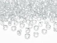 Kryštalové diamanty bezfarebné