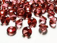Kryštalové diamanty červené