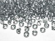 Kryštalové diamanty strieborné