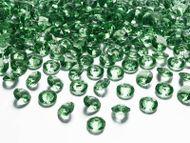 Kryštálové diamanty zelené